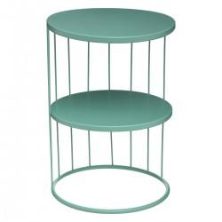 Table d'appoint KOBU, ARCHI FÉMININ - Vert
