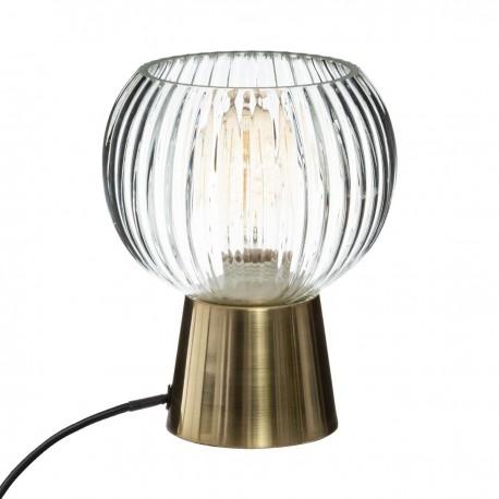 Lampe à poser H19,5cm LAYE, ATELIER D'HIVER - Doré