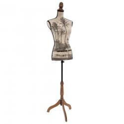 Mannequin grand modèle H160cm THE COLONIAL FACTORY - Beige