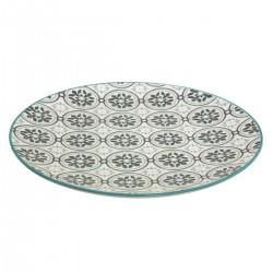 Assiette plate D27cm LA DOLCE VITA - Vert