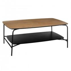 Table basse AKITA - Beige et noir