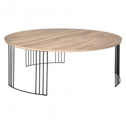 Table basse ronde NEILE - Bois