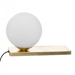 Lampe boule à poser D15cm DRIS - Doré