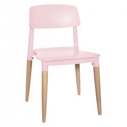 Chaise pour enfant DESIGN - Rose