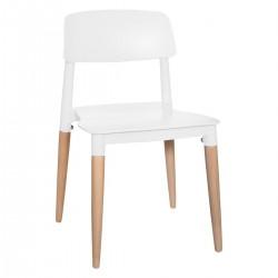Chaise pour enfant DESIGN - Blanc