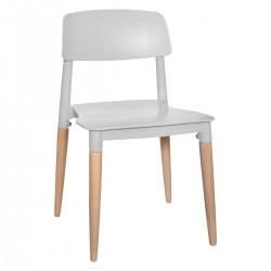 Chaise pour enfant DESIGN - Gris