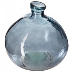 Vase rond en verre recyclé D45cm - Orage