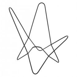 Structure de fauteuil en métal DARIO, VINTAGE LOFT - Noir