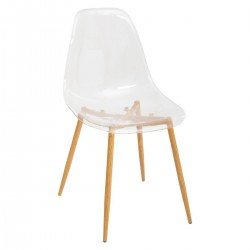 Chaise en polycarbonate TAHO - Transparent