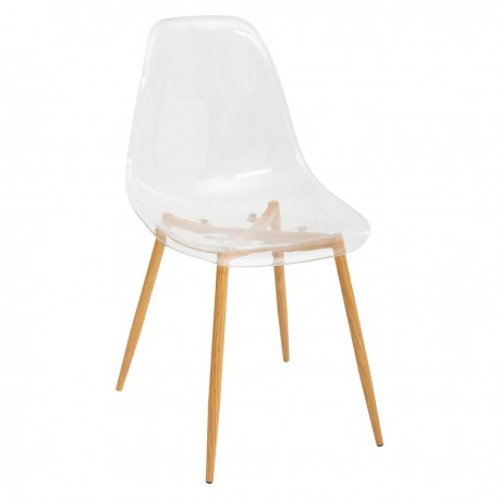 Chaise en polycarbonate TAHO - Transparent