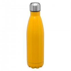 Bouteille isolante 0,5L RETRO COLORS - Jaune
