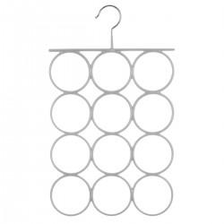 Cintre en métal pour foulards - Gris clair