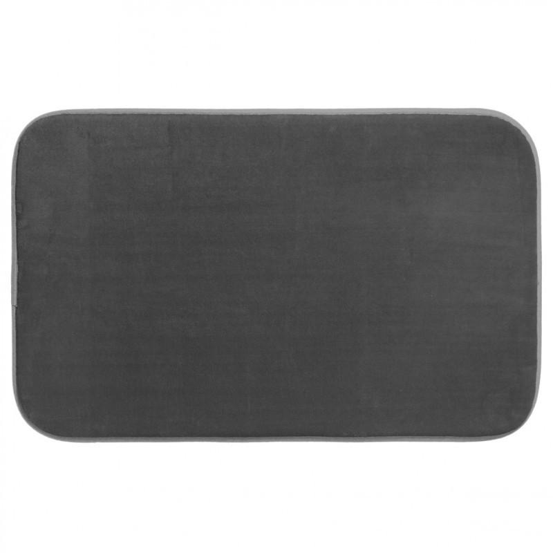 tapis de chambre m moire de forme 50x80cm gris fonc veo shop. Black Bedroom Furniture Sets. Home Design Ideas