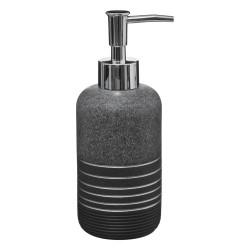 Distributeur de savon en polyrésine SILVER - Gris