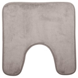 Tapis contour WC 48X48cm COLORAMA - Taupe