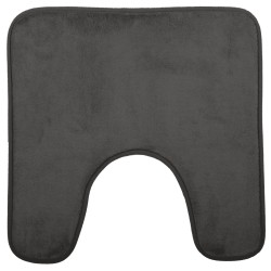 Tapis contour WC 48X48cm COLORAMA - Gris