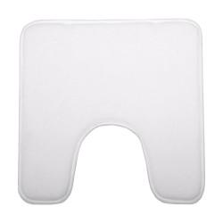 Tapis contour WC 48X48cm COLORAMA - Blanc
