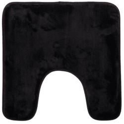 Tapis contour WC 48X48cm COLORAMA - Noir