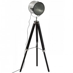 Lampadaire H152cm EBOR, COLLECT' MOMENTS - Noir