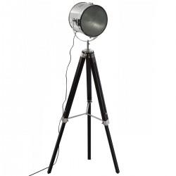 Lampadaire H152cm EBOR, COLLECT' MOMENTS - Noir