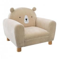 Fauteuil ours pour enfant - Beige