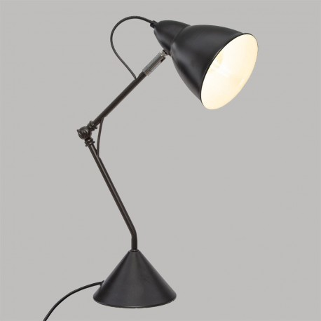 Lampe en métal H62cm AUDE, SOUTH BAY - Noir