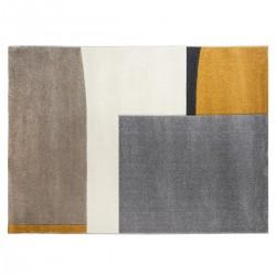Tapis à relief à motifs abstrait 160X230cm - Multicolore