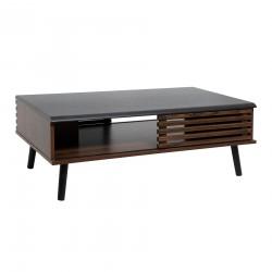 Table basse 100X60cm ASMAR - Marron