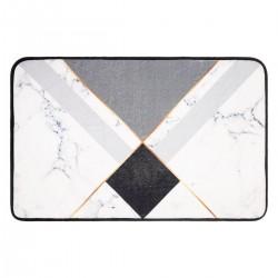 Tapis de salle de bain 50X80cm GÉOMÉTRIX - Marbre