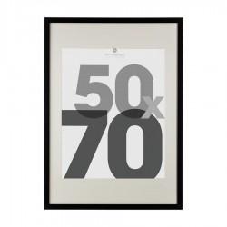 Cadre photo en bois 50X70cm EVA - Noir