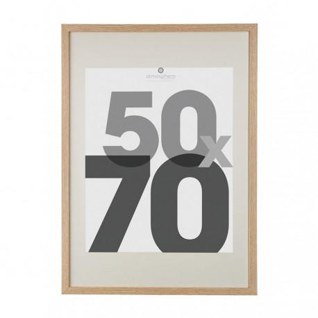 Cadre photo en bois 50X70cm EVA - Bois