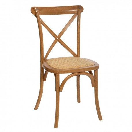 Chaise bistrot ISAK, POÉSIE À L'ANGLAISE - Chêne