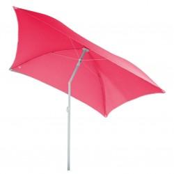 Parasol de plage carré 180cm HELENIE - Rose