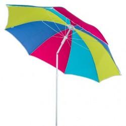 Parasol de plage D180cm PORTO - Multicolore (aléatoire)