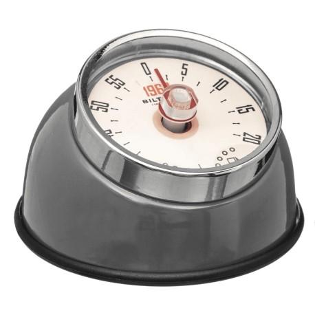 Minuteur magnet RETRO COLORS - Gris