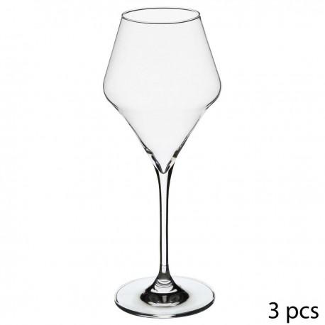 Lot de 3 verres à vin 27cL CLARILLO - Transparent