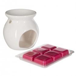 Brûle parfum et cire 30g - Framboise