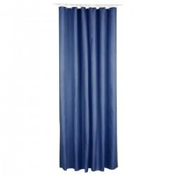Rideau de douche en polyester 200X180cm - Bleu marine