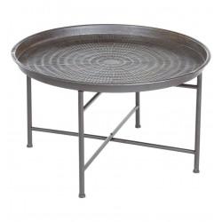 Table à café métallique INSTANT NATURE