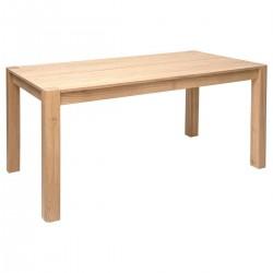 Table à dîner 160X80cm ARTY STUDIO, ÉDITION VÉGÉTALE - Bois beige