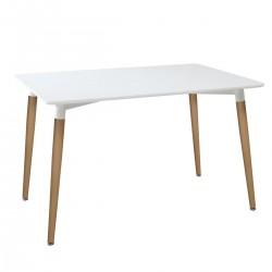 Table plateau ROKA - Blanc