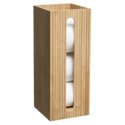 Réserve de papier toilette en bambou TERRE INCONNUE - Beige