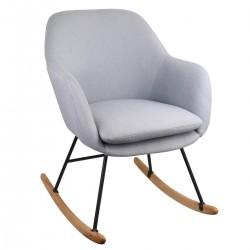 Rocking chair PERA - Gris clair