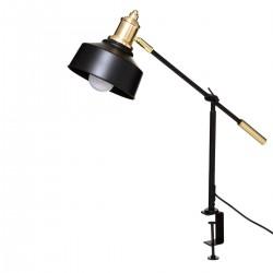 Lampe pince FLOWER FACTORY - Noir