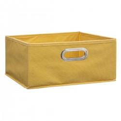 Boîte à rangement 15X31cm MIX'nMODUL - Jaune
