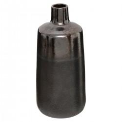 Vase en céramique H24,5cm FLOWER FACTORY - Noir