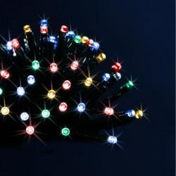 Guirlande programmable 96 LED multicolore 7m