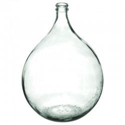 Vase en verre recyclé H56cm DAME JEANNE - Transparent