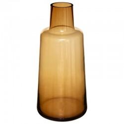 Vase épaule en verre H40cm - Ambre