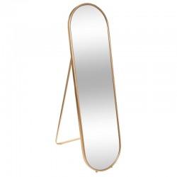 Miroir sur pied 160X43,5cm ÉDITION VÉGÉTALE - Doré